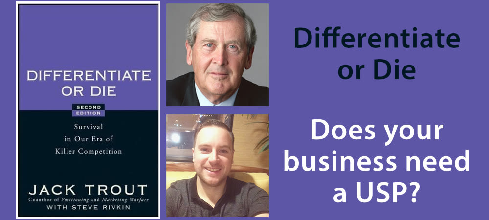 Differentiate Or Die By Jack Trout