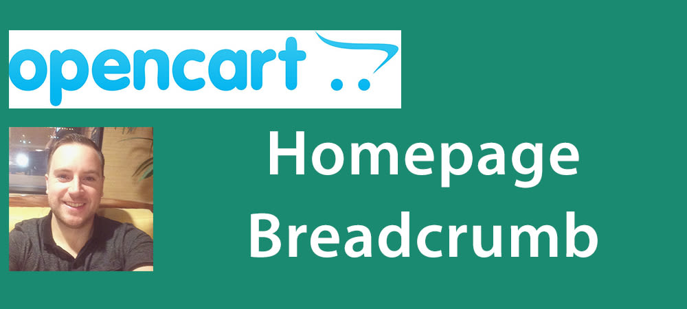 Edit The Homepage Breadcrumb In Opencart