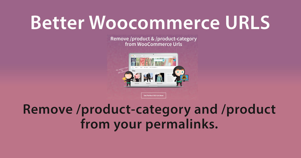 Woocommerce SEO Friendly Urls for Products & Categories
