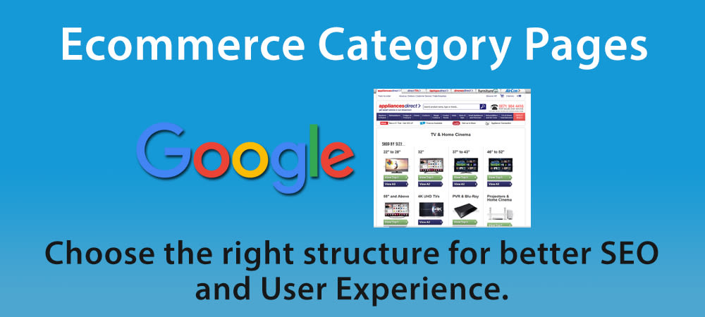How to Structure Your Ecommerce Category Pages for SEO