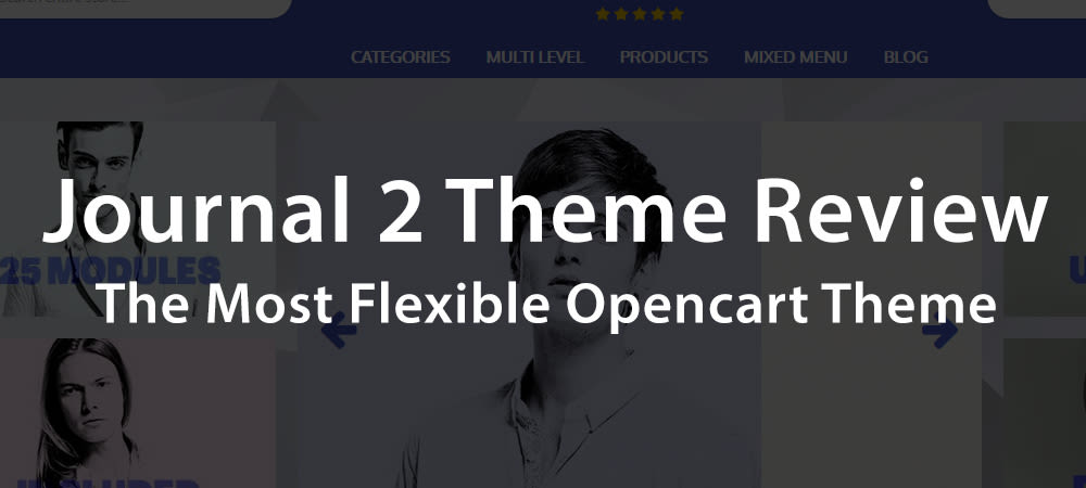 Journal 2 Review: The Best Opencart Theme