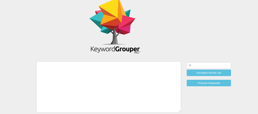 Keyword grouper