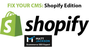 Correctifs de Shopify SEO