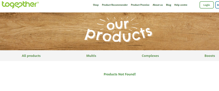 Empty collection pages in Shopify CMS