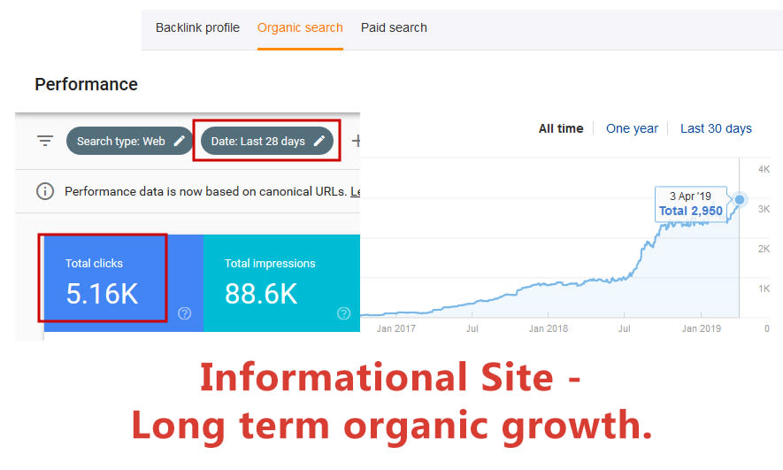 info site seo growth