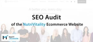 Seo Audit For Nutrivitality