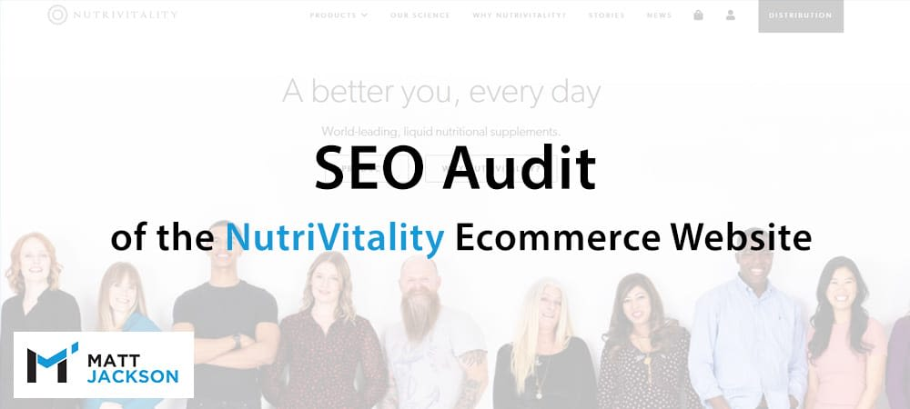 Seo Audit For Nutrivitality