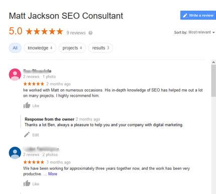 matt jackson seo reviews