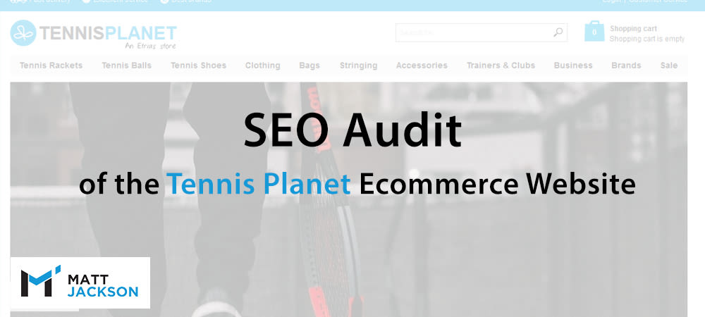 tennis planet seo audit